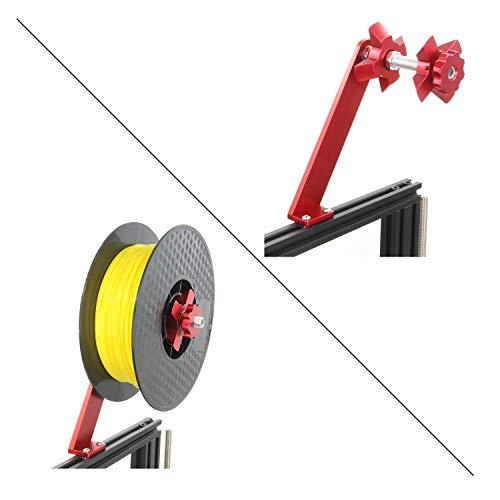Befenybay - Supporto per filamento per stampante 3D per bobina concentrica, staffa per montaggio a rack per PLA/ABS/Nylon/Legno/TPU/altro materiale di stampa 3D (bobina concentrica)