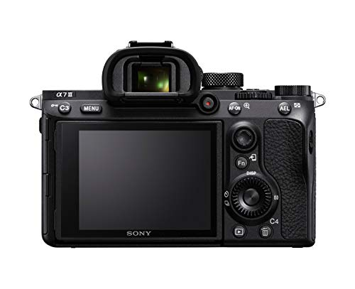 Sony Alpha 7 III | Spiegellose Vollformat-Kamera (Schneller 0,02s AF, optische 5-Achsen-Bildstabilisierung im Gehäuse) & SEL-24105G G Standard Zoom-Objektiv (24-105 mm, F4, OSS, Vollformat) schwarz