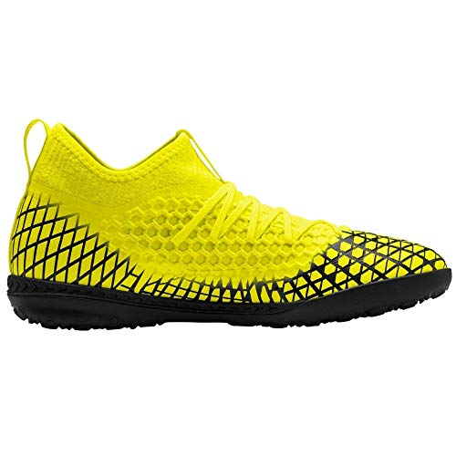 PUMA Mens Future 4.3 Netfit Tt Soccer Cleats - Yellow - Size...