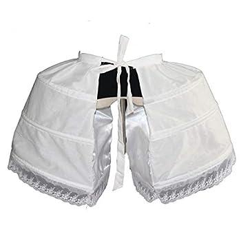 MAYSONG Women s Rococo Skirt Pannier Petticoat Crinoline Bustle Underskirt