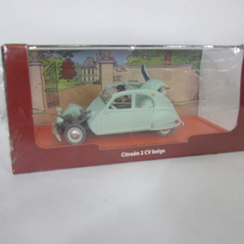 Voiture miniature Tintin - Les Bijoux de la Castafiore, Citroën 2CV belge 1954