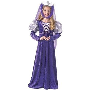 EL CARNAVAL Disfraz Julieta Princesa Medieval niña Talla de 2 a 4 ...