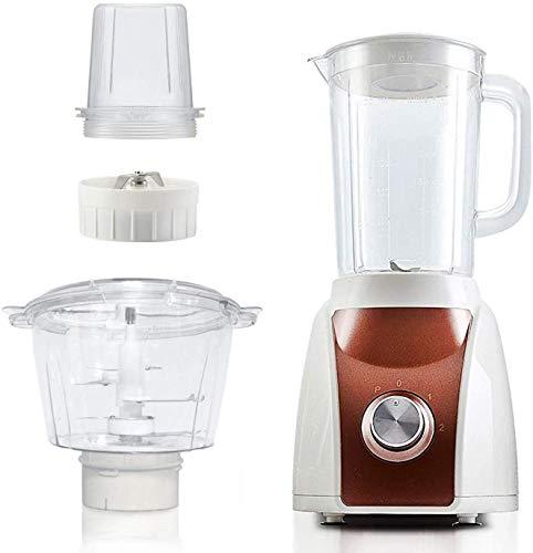 Fulinmen Blender multifunción 28000 RPM Smoothie Maker para batido, exprimidor, enamoramiento de Hielo, Molinillo de café, helicóptero 350W Procesador de Alimentos, marrón, marrón (Color: marrón)