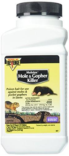 Bonide Chemical Moletox II Mole and Gopher Killer, 8-Ounce
