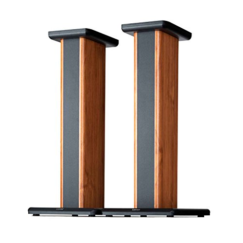 Edifier SS02 S1000DB / S2000PRO Wood Grain Speaker Stands Enhanced Audio Listening Experience for Home Theaters (Certified Refurbished)