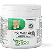 Troo Meals 300g Vanilla Flavour - Dairy Free Meal Replacement Protein Powder - UK Manufactured Under GMP License to Guarantee Quality by Troo Health Care