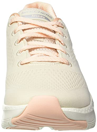 Skechers Arch FIT Big Appeal, Zapatillas Mujer, Natural, 37 EU