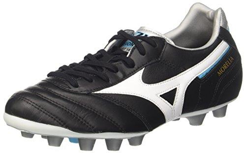 Mizuno Morelia II MD, Zapatillas de Running Hombre, Multicolor (Black/White/blueatoll 02), 42.5 EU