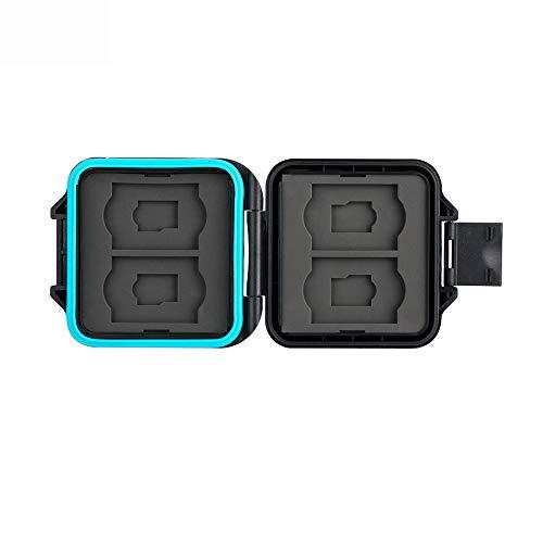 Speicherkarten Tasche Wasserdicht Schutzhülle für 4 SDXC SDHC SD-karten und 4 Micro SD-Karten TF Karten mit Antilost Schnur von JJC