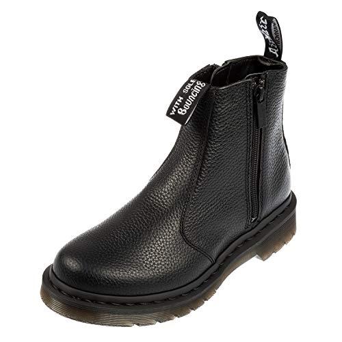 Dr. Martens Damen 2976 W/zips Chelsea Boots, Schwarz (Black 001), 40 EU