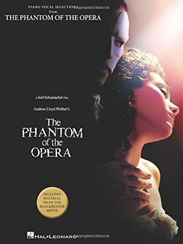 The Phantom of the Opera - piano vocal Selections (PIANO, VOIX, GU)