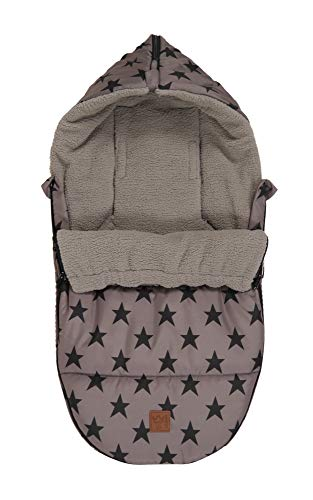 Kaiser 6538724 Hoody Star Print Outside Sac de Couchage Grey