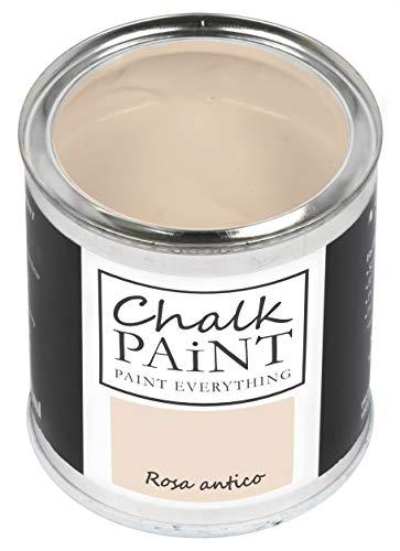 Everything CHALK PAINT Rosa Antico 250 ml - SENZA CARTEGGIARE Colora Facilmente Tutti i Materiali