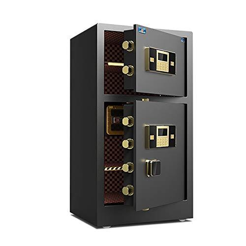 Caja Fuerte para Oficina En Casa Digital Puerta Doble Caja Fuerte Caja de Monedas Caja de Seguridad Caja de Seguridad para el hogar Oficina Segura Adecuado para Caja Fuerte Digital Electrónica