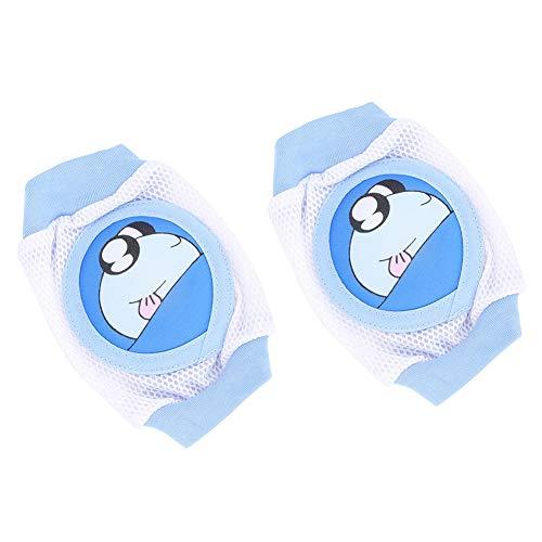 Rodilleras para bebés, Calcetines para gatear para bebés, Rodilleras para bebés de dibujos animados para niños Calcetines para gatear transpirables Protector para rodilleras para niños pequeños