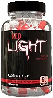 Controlled Labs, Red Light, Weight, Test & Digestion Aid, 60 Servings
