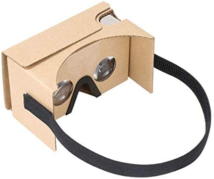 Cardboard VR by IHUAQI 2 Pack with Headstrap Fully Assembled Compatible with Android and iPhone product image