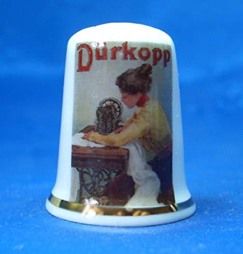 Birchcroft Durkopp - Caja para póster de máquina de Coser (Porcelana)