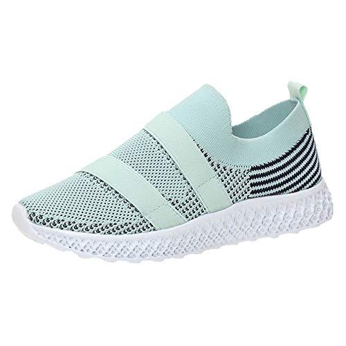 Zapatos Deporte Mujer Zapatillas Deportivas Correr Gimnasio Casual Zapatos para Caminar Running Transpirable Sneakers 1228