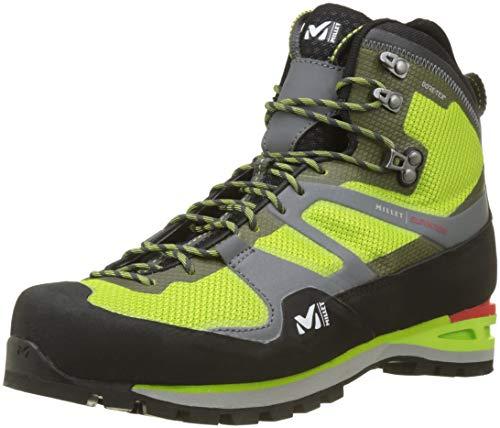 MILLET Elevation GTX, Chaussures de Randonnée Hautes Mixte Adulte, Vert (Acid Green 6139), 44