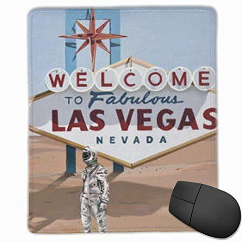 Gaming Mouse Pad, personalisierte benutzerdefinierte Maus Padnon-Slip Rubber Gaming Mouse Pad, bleiben Sie positiv Arbeiten Sie hart und machen Sie es möglich Leaving-Las-Vegas