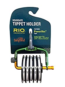 Rio Fly Fishing Tippet Head gate with 2X~6X-PowerfleX-Tippet Fishing Tackle, Clear
