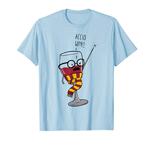 Accio Wine Espresso Patronum T-Shirt Fandom Gift Idea Tee