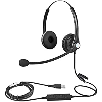 Logitech 3.5 mm Analog Stereo Headset H151 with Boom Microphone Plus Bonus USB Extenders 981-000587