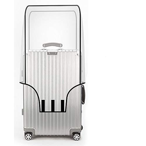 スーツケースカバー 透明 防水 ラゲッジカバー キャリーバッグ 20-26インチ対応 通気性 傷防止 カバー