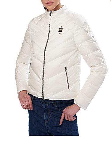 Blauer Piumino Corto Leggero Donna Modello Barlet Bianco Ottico S