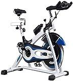 lyq Bicicleta de ejercicio para interiores y exteriores, ultra silenciosa, duradera, de gama alta, color negro, tamaño: 100 x 50 x 120 cm.