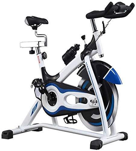 Lyq - Bicicleta estática de ciclismo para interiores y exteriores, ultra silenciosa, duradera, de alta gama, bicicleta de spinning (color negro, tamaño: 100 x 50 x 120 cm)