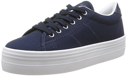 Unbekannt No Name Plato Damen Sneaker, Blau - Navy Fox White - Größe: 36 EU