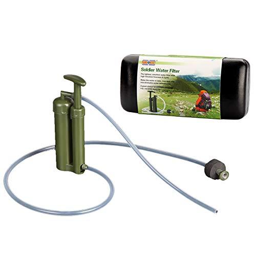 Moligh doll Rein Einfach Wasser Filter Luftreiniger Reiniger 0,1 2000L Keramik Soldat Wasser Filter Au?en überleben Camping Notfall
