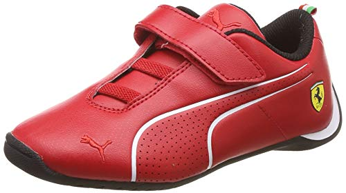 PUMA Ferrari Future Cat Ultra V Preschool Kinder Sneaker Rosso Corsa-Puma White UK 2_Youth_FR 34.5