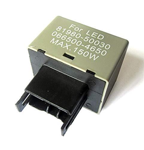 LICHONGUI 1pcs LED Flasher Relay Fix Fix The Signal Lights Resistor 8-Pin