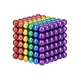 QSSCZZ Magnet MAGNETAL Ball Rubik Cube ADULTURAL DE DECOMPRESIÓN Y Desarrollo Inteligente DE LOS NIÑOS DE JUGUEJOS EDUCATIVOS MAGNÉTICOS con Caja DE Almacenamiento, FÁCIL DE Llevar,216