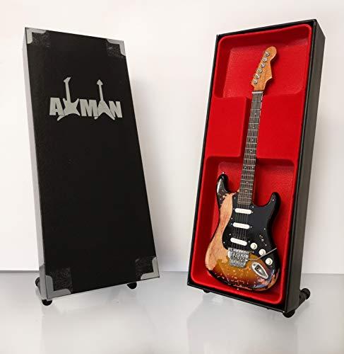 Réplica de guitarra en miniatura, reliquia - Richie Sambora (Bon Jovi)