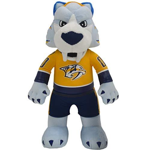 Bleacher Creatures Nashville Predators Gnash 10 Plush Figure- A Mascot for Play or Display