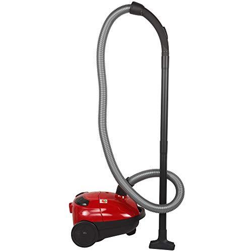 BLACK+DECKER VM1200-B5 1000-Watt,100 Air Watts High Suction, 1-Litre Bagged Vacuum Cleaner (Red)