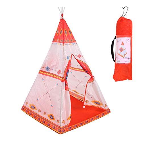 FCFLXJ Tienda Tipi para niños, Tienda emergente de Juego para niños para Juegos en Interiores y Exteriores, Juguetes de Navidad, Regalos de cumpleaños para niños y niñas, Plegable