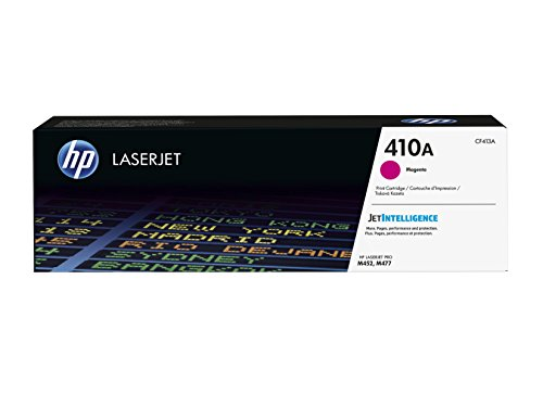HP 410A | CF413A | Toner Cartridge | Magenta | Works with HP Color LaserJet Pro M452 Series, M377dw, MFP 477 Series