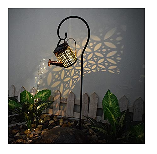 Binhe Solar LED Lichterketten - Garten Gießkanne Lichter Dekoration, Star Dusche Licht,Star Shower Garden Art LED-Licht,Lichterketten für den Außenbereich,Zuhause,Garten,Hof Pfad,Balkons