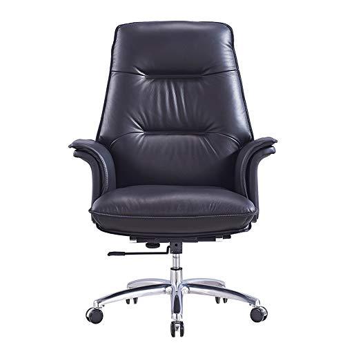 MAATCHH Sedia da Ufficio scrivania Sedia Flip-up Ufficio Girevole seggiovia Presidenza di Cuoio esecutivo Tavolo Regolabile Sedia con rotelle Sedile a 360 ° di Rotazione