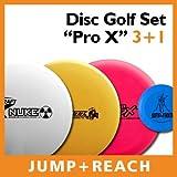 Disc Golf Set 'Pro X' - 3x Elite-X + Mini