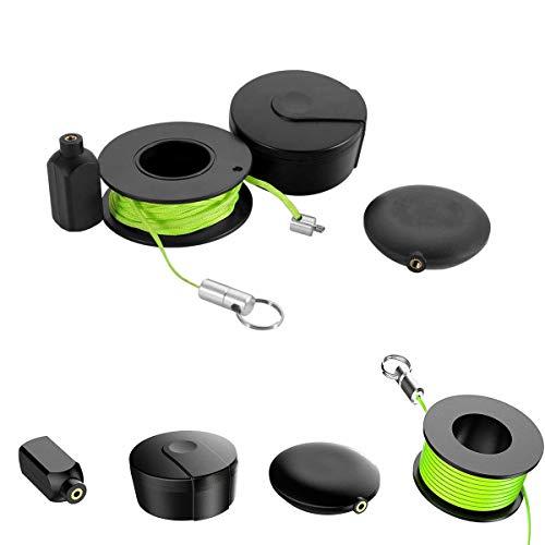 Juego de extractores Wiremag, herramientas de pesca con cable magnético, enhebrador magnético, cable de pesca con tirón magnético para paredes, enhebrador de electricista, regalo del día del padre