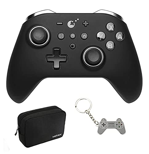 GuliKit Wireless Bluetooth Controller for Nintendo Switch PC Android Steam, Auto Pilot Gaming Gamepad with Joysticks Support NFC-Amiibo Function