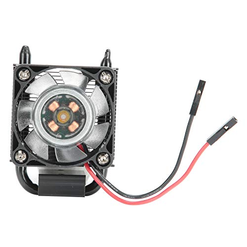 Ice Tower Cooler CPU Ventilador de refrigeración Ventilador LED RGB con Tubo de Cobre de 5 mm, radiador Multicapa, para Raspberry Pi 4 Modelo B y Raspberry Pi 3B + (Negro)