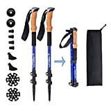 Best Hiking Poles - Aihoye Trekking Waling Hiking Poles Collapsible Lightweight Review