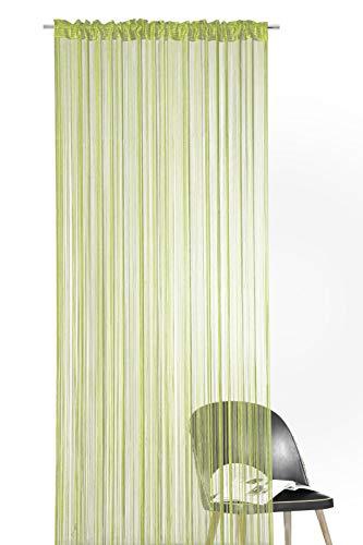 Heimtexland® - Cortina hilos muchos colores tamaños